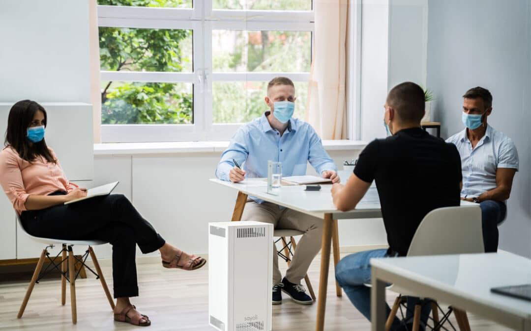 Wie laut darf ein Luftfilter in Konferenzräumen sein?