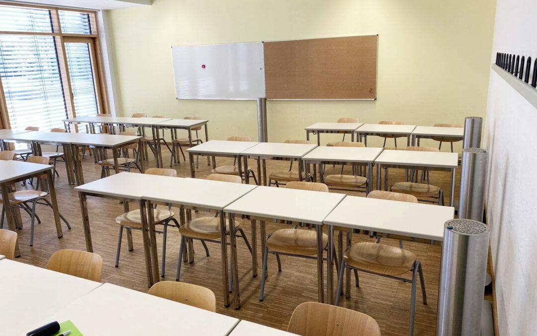 Neue Veröffentlichung zu UVC-Luftreinigungsgeräten an Schulen
