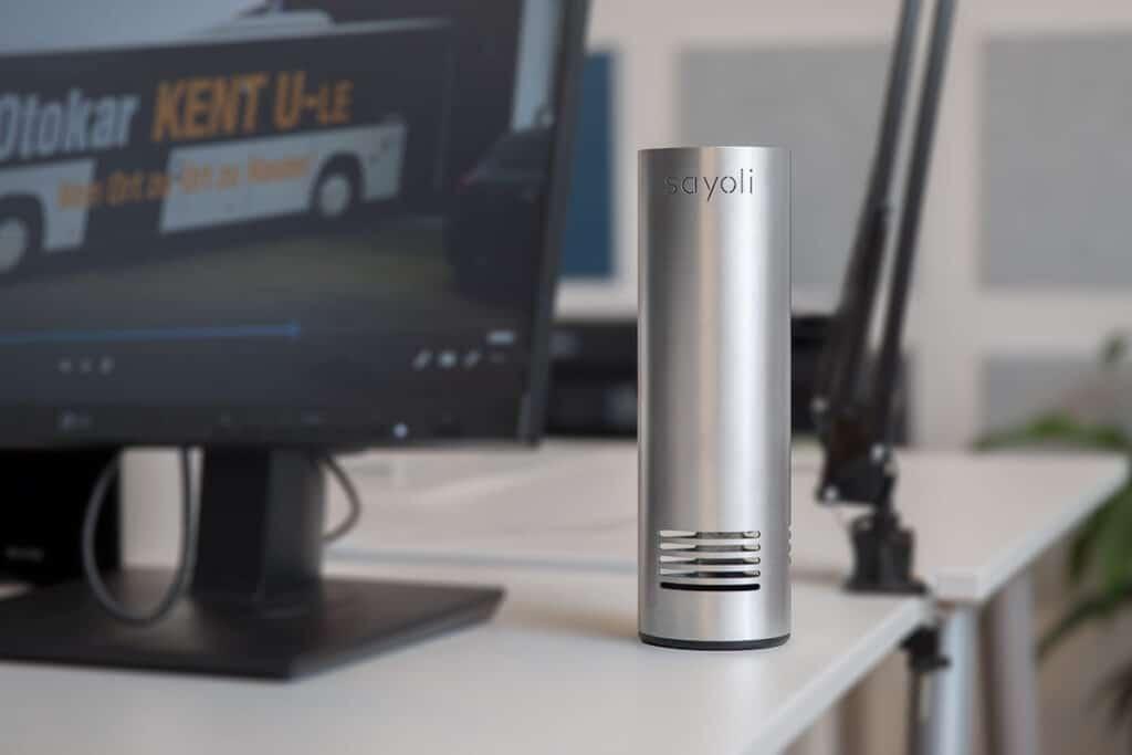 Mobiler Luftreiniger Schreibtisch