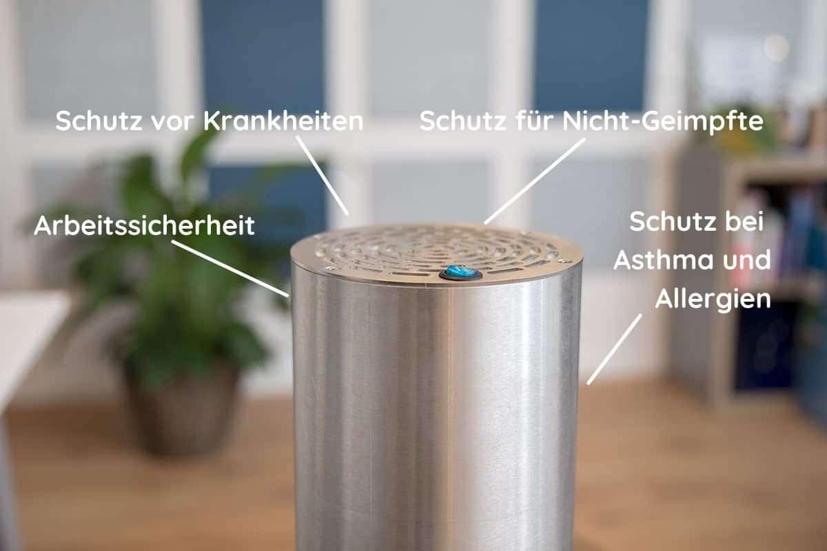 Was bringen Luftreiniger