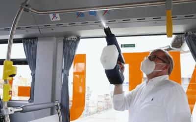Keimfreies Reisen in Bus und Bahn – Praxistest mit OneSpray